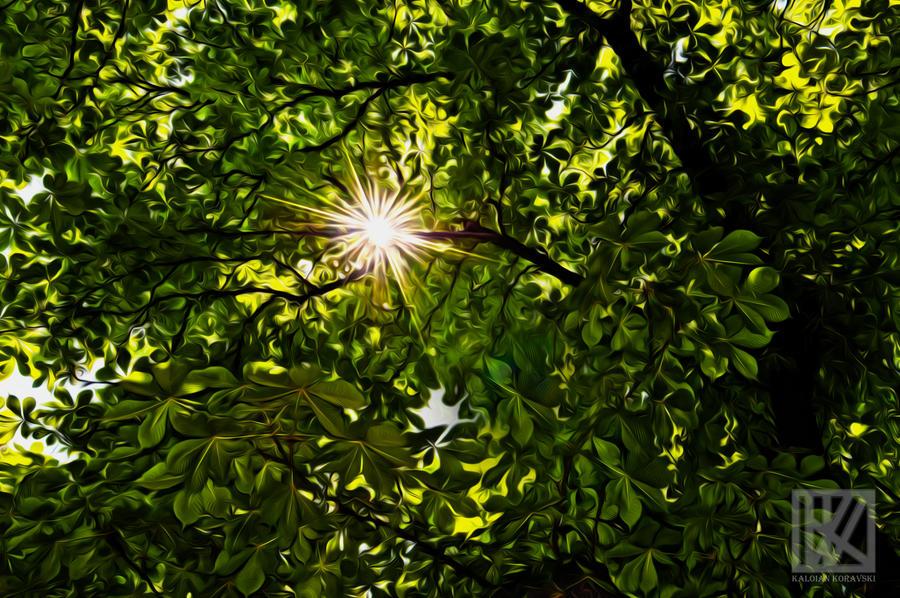 The Scorching Oil Sun . . . ? by kaioian