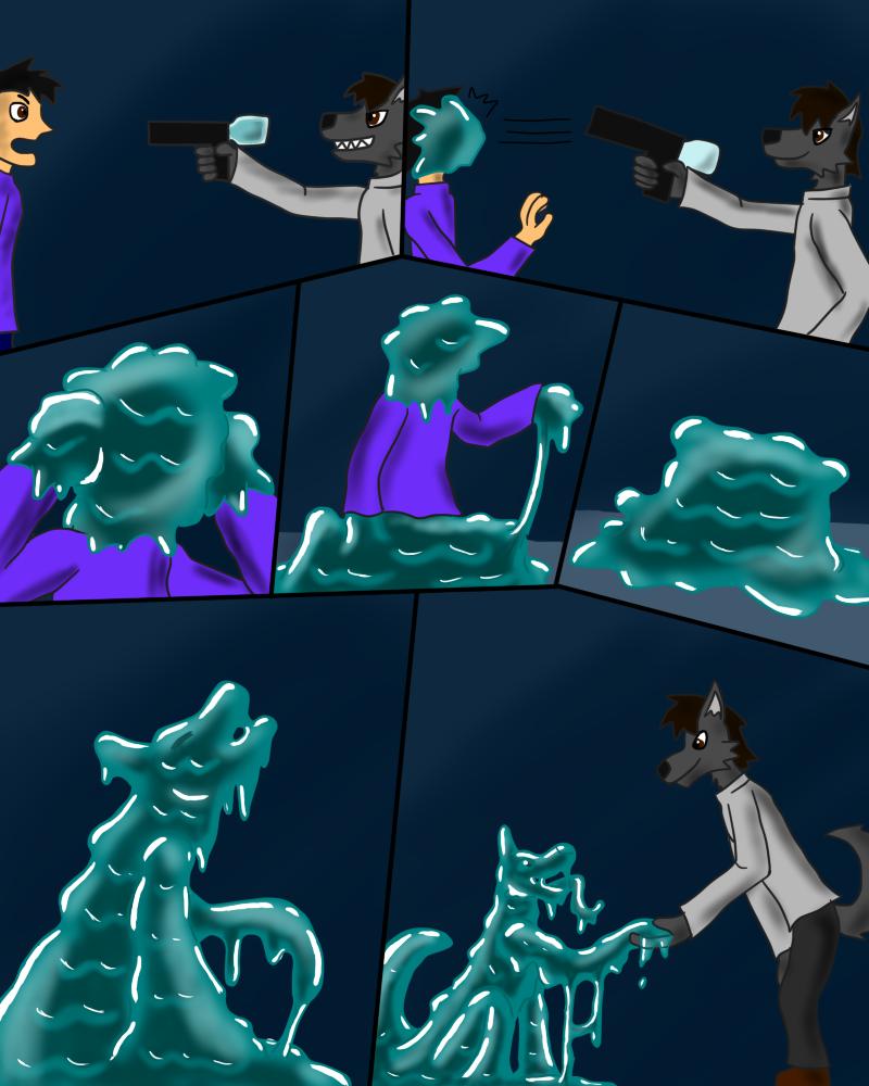 Slime TF Comic 2nd By K-HENRY On DeviantArt