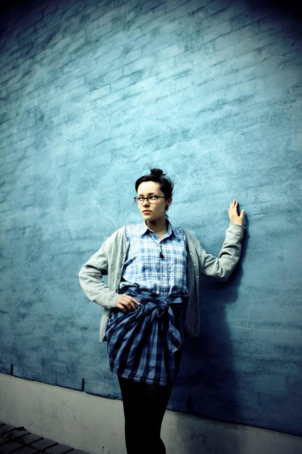 Blue Againts Blue by Schnubble