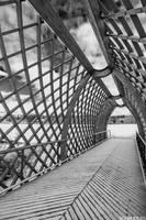 Inside A Wooden Bridge by Schnubble