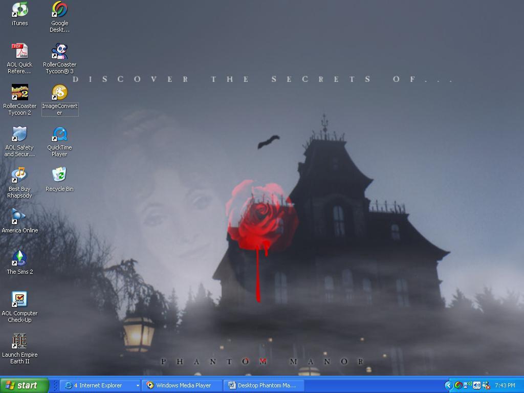 Phantom Manor Desktop by 7Silence7