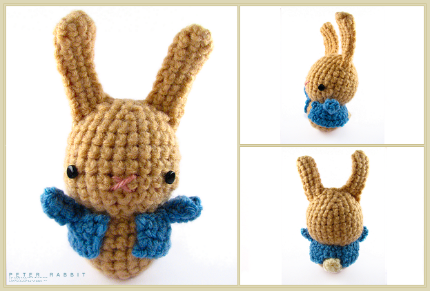 This bunny is an original design inspired by Peter Rabbit. He ... | 422x623