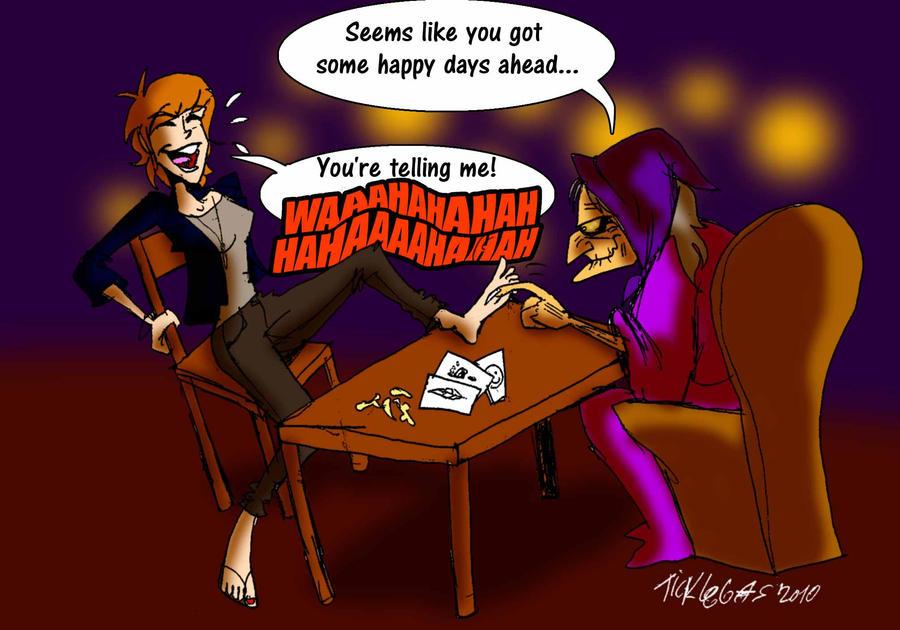 Fortune tickler by ticklegas