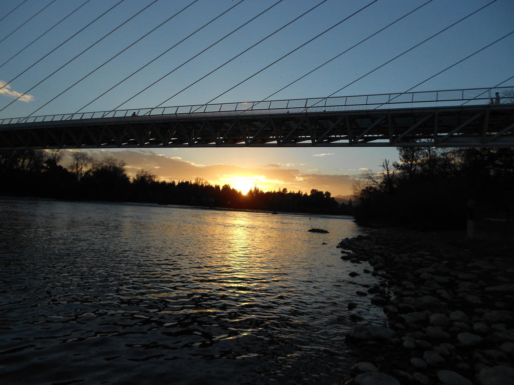 Sundial Bridge Wallpaper