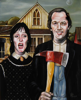 A Shining American Gothic.