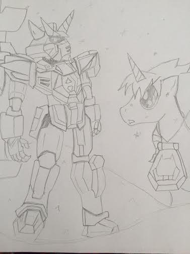 MLP / Gundam AGE - AGE of Infinity by XrosBrony