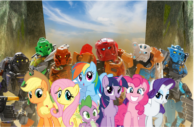 My Little Pony X Bionicle Cover by XrosBrony