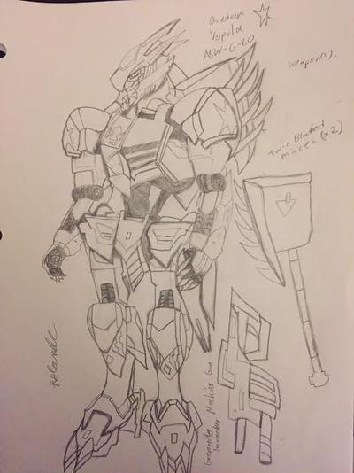 Gundam Vapula by XrosBrony