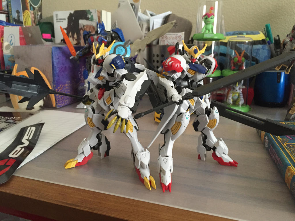 The two Barbatos Lupus by XrosBrony
