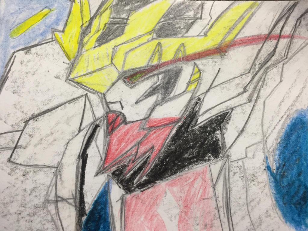 Gundam Barbatos Lupus Rex by XrosBrony