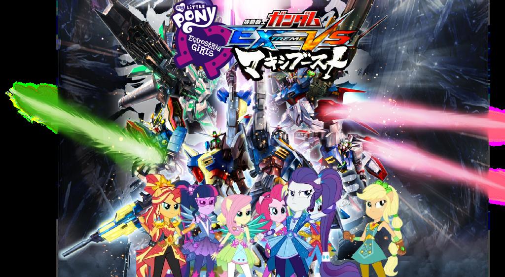 EG: Gundam Extreme Vs Magic Maxi Boost by XrosBrony