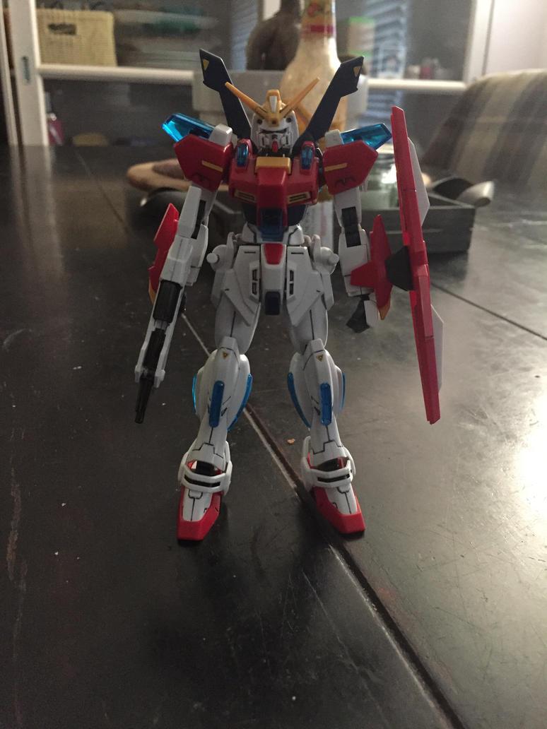 HGBF Star Burning Gundam by XrosBrony