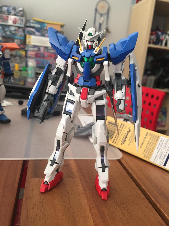 RG Gundam Exia by XrosBrony