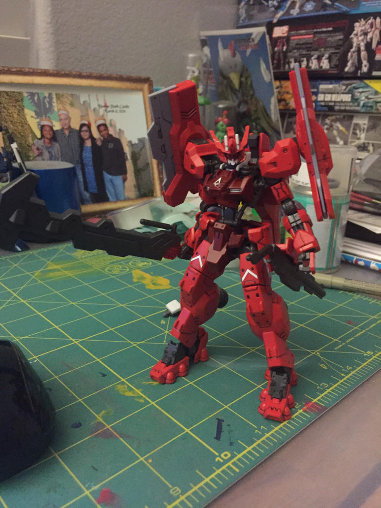 HG IBO Gundam Astaroth Origin  by XrosBrony