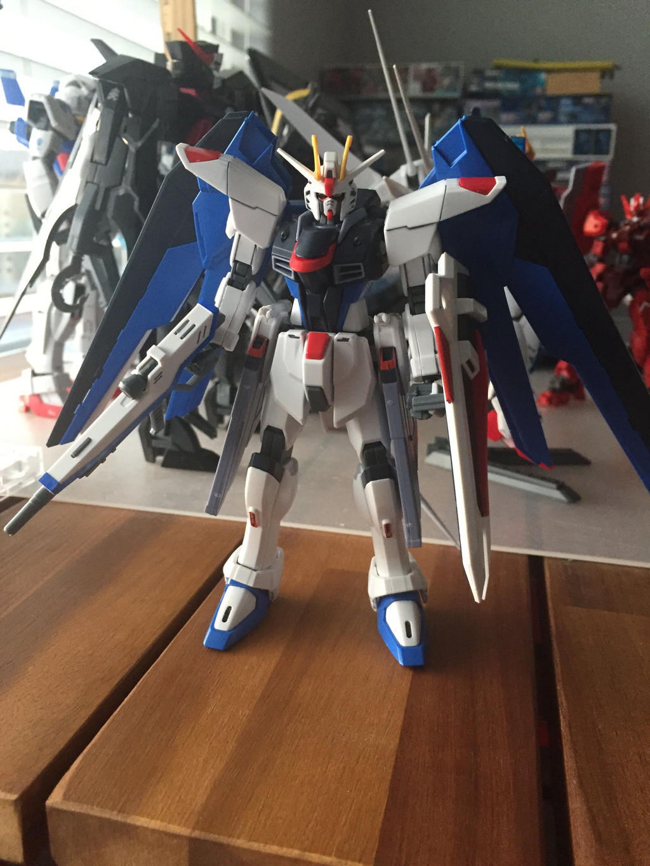 HGCE Freedom Gundam Revive ver by XrosBrony