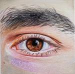 Brown eyes man