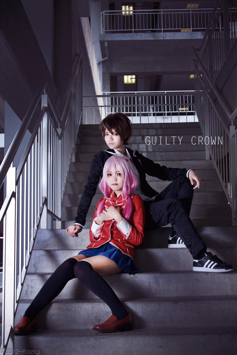 Guilty Crown : Inori and Shu by yingtze