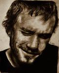 Heath Ledger by wondergunner