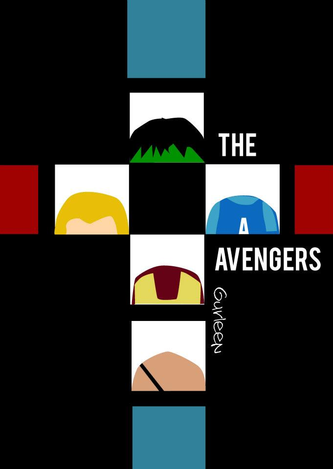 Avengers minimalistic