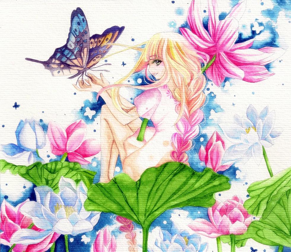 Lotus thingy by Popoblanca