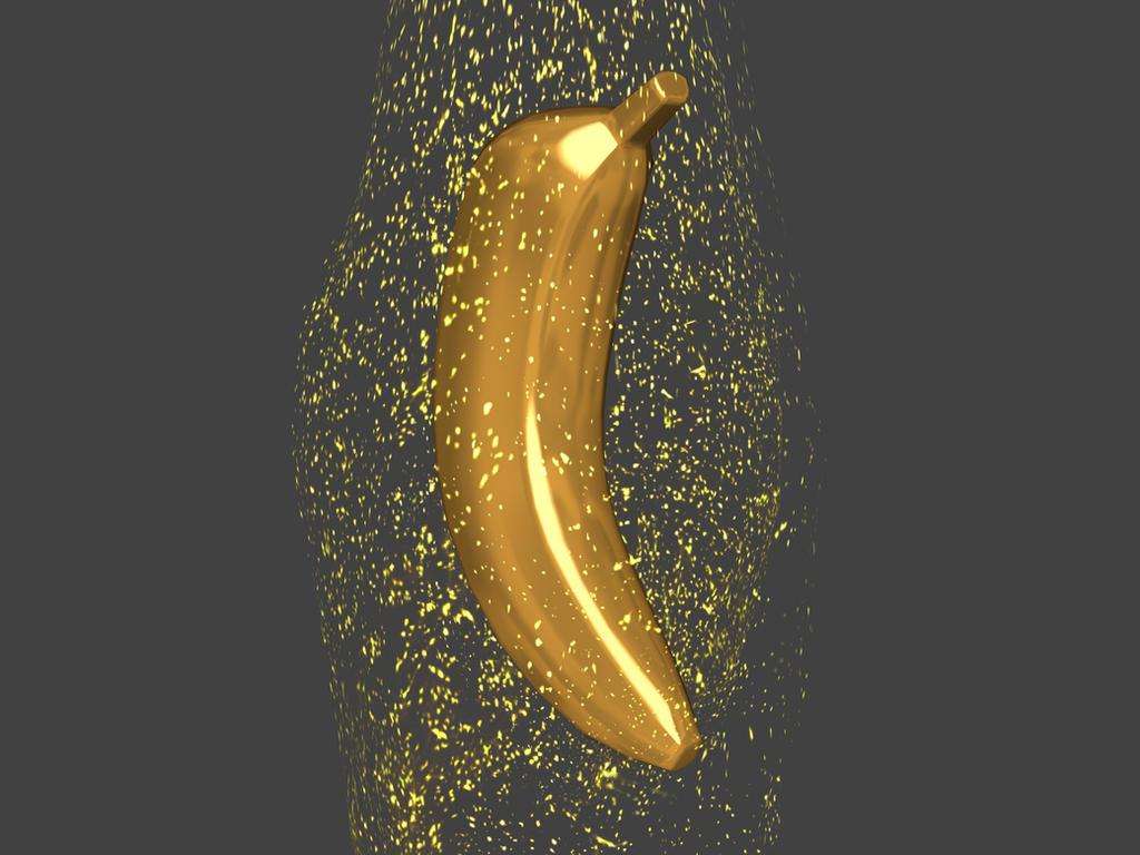 Magic Gold Banana By Weird Black Cat On Deviantart