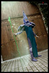 Summoned Dark Magician by Dantedart