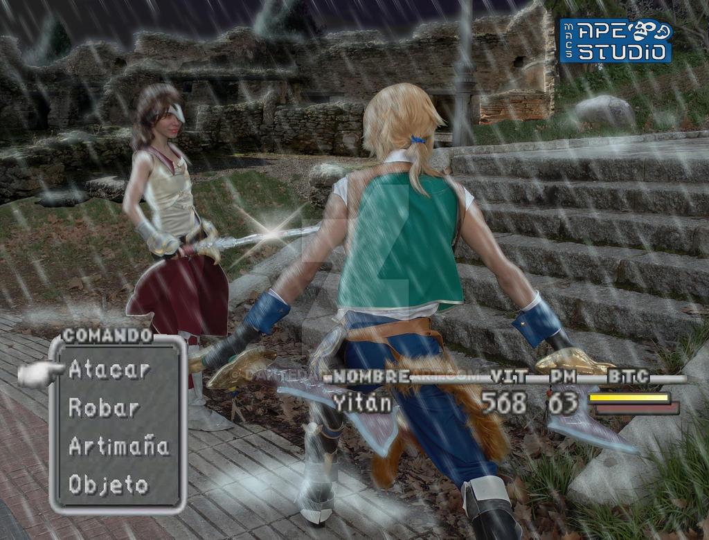 Fighting Beatrixfinal Fantasy Ix By Dantedart On Deviantart