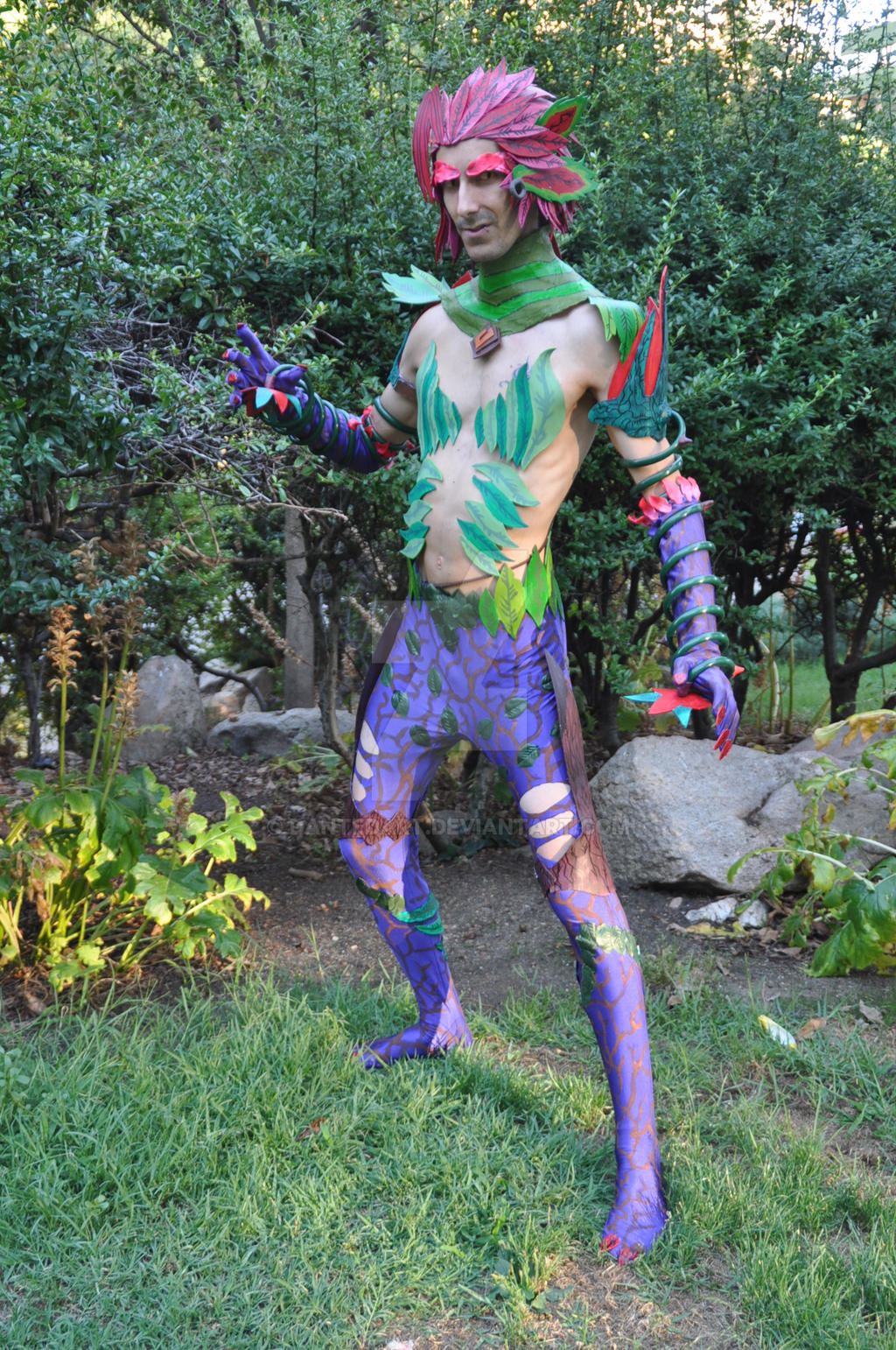 LoL~Zyra Genderbender Cosplay by Dantedart on DeviantArt