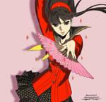 Persona 4 Yukiko Illustration.