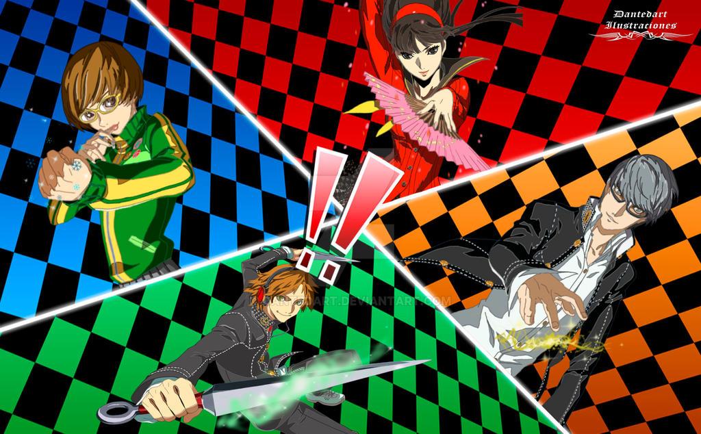 Yu Narukami Wallpaper Persona 4 All out atta...