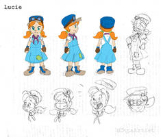 Lucie Character Concept by MJopaArtist