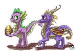 2 little dragons