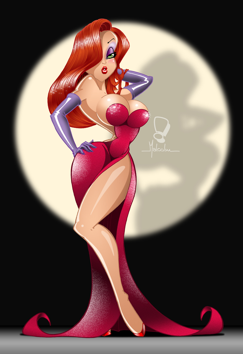 Jessica Rabbit 2 by malberri