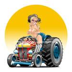 Aussie Tractor Girl