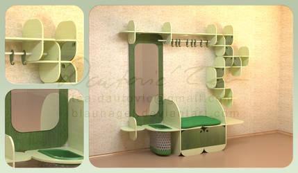 The Green Foyer by blaunagel