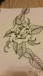 tattoo design by Zombie1107