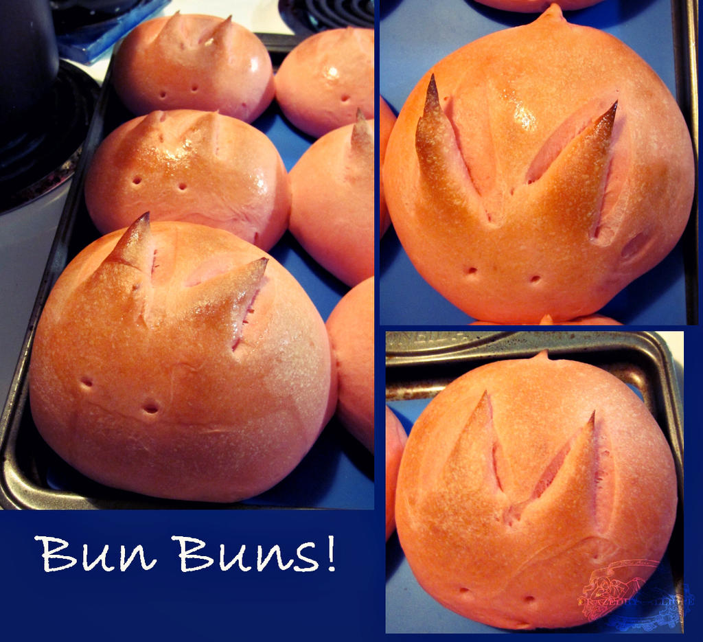 Bun Buns by CrazedByCalliope