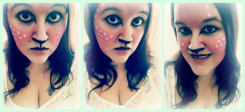 Faun Makeup by CrazedByCalliope