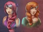 Vera and Taja by Vhea