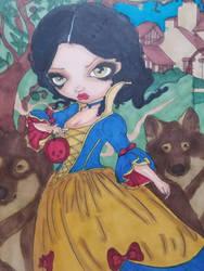 Snow White, Born Under A Bas Sun by aXforamnesty