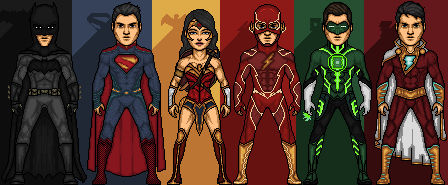 JL V1 - A timeline of DCcomics by Arthur Dias