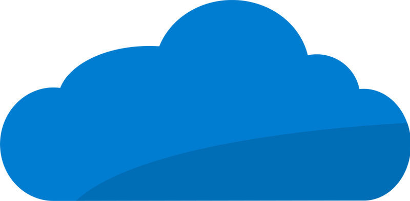 Cloud logo by TMLdesign