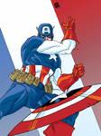 Colors Captain America