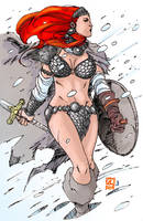 Red Sonja Colored: 45 Minutes by ljamalwalton