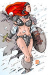 Red Sonja Colored: 45 Minutes