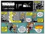 Thomas: Agent of Chaos - Ninja by ljamalwalton