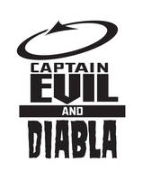 Logo Captain Evil and Diabla by ljamalwalton