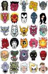 Marvel Demons by ljamalwalton