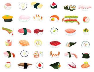 Sushi Dreams by ljamalwalton