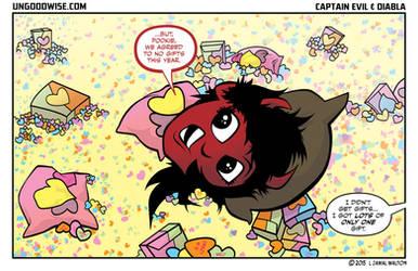 Valentine's Day 2015 from Evil and Diabla by ljamalwalton